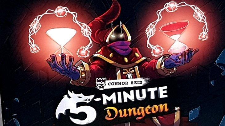 Le jeu de société de la semaine #3 : 5 Minute Dungeon