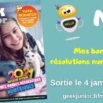 Le nouveau numéro de Geek Junior est sorti (N°8) !