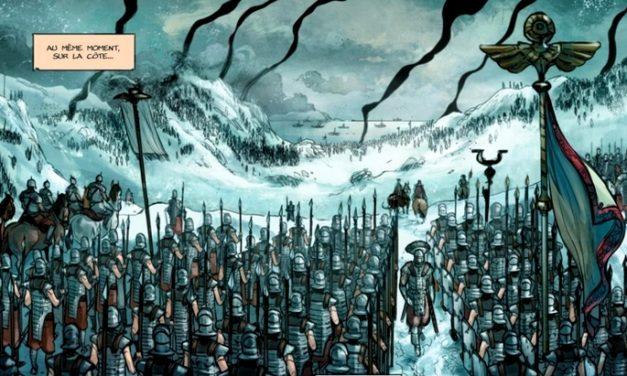 Sortie BD : La Pierre du chaos (vol.2), le temps des barbares