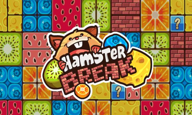 """Hamster Break, le jeu mobile mignon à la """"Breakout"""""""