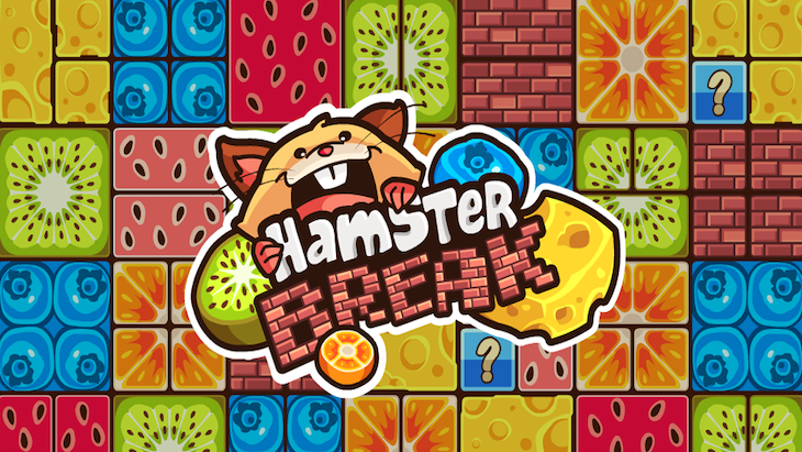 "Hamster Break, le jeu mobile mignon à la ""Breakout"""