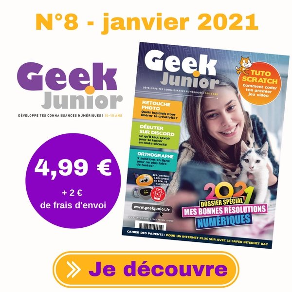 Geek Junior N°8