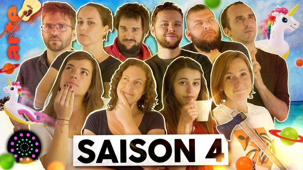 """Saison 4  : le retour la chaine Youtube d'Arte """"Le Vortex"""" avec Marie Wild, Nota Bene, Monsieur Phi…"""