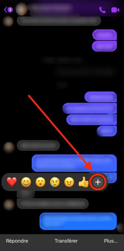 Reaction Message