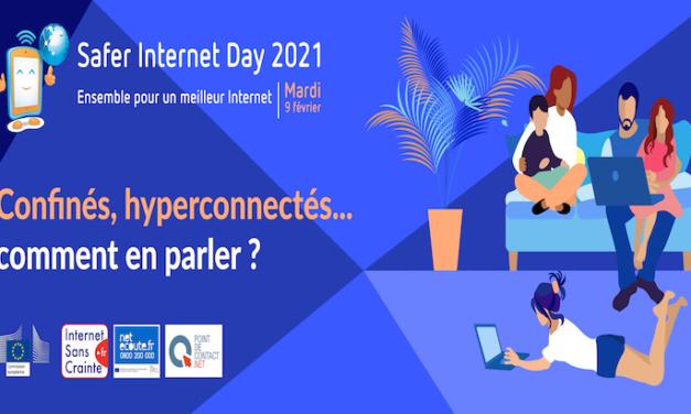 Safer Internet Day 2021 : sensibilisation à l'heure de la Covid-19