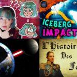 Apprendre avec YouTube #197 : Scienticfiz, Hugo Lisoir, Chroniques de Prof, Melvak, Marie Spénale…