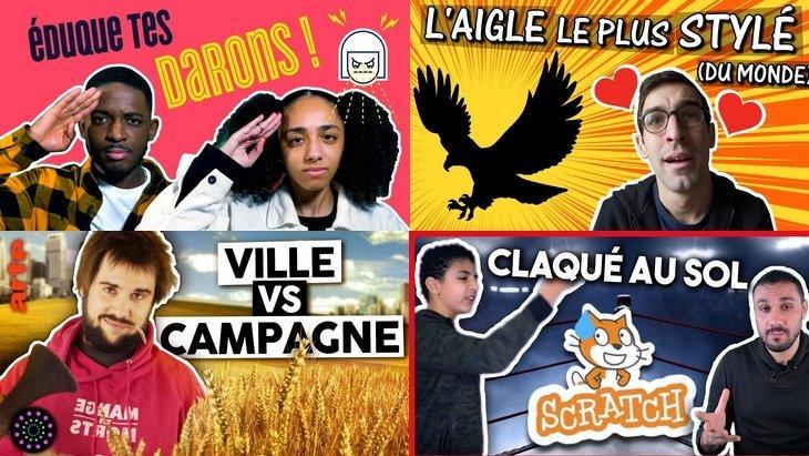 Apprendre avec YouTube #199 : Mytho, Biosfear, Max Bird, Evolukid, Zet'Up…