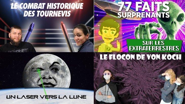 Apprendre avec YouTube #200 : Scienticfiz, Lumni, Zeste de Science, Poisson Fécond…