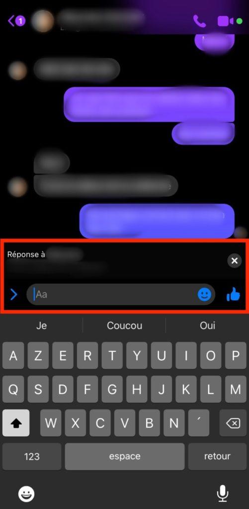 Citer sur Messenger