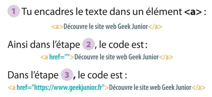 Liens html