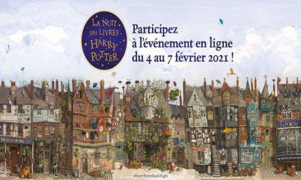 La nuit des livres : entre dans l'univers d'Harry Potter (4 au 7/02)
