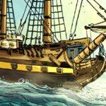 Sortie BD : Les Terreurs des mers (T1) L'Hermione à la rescousse !