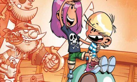 Sortie BD : Pilo et la fille pirate (T4)