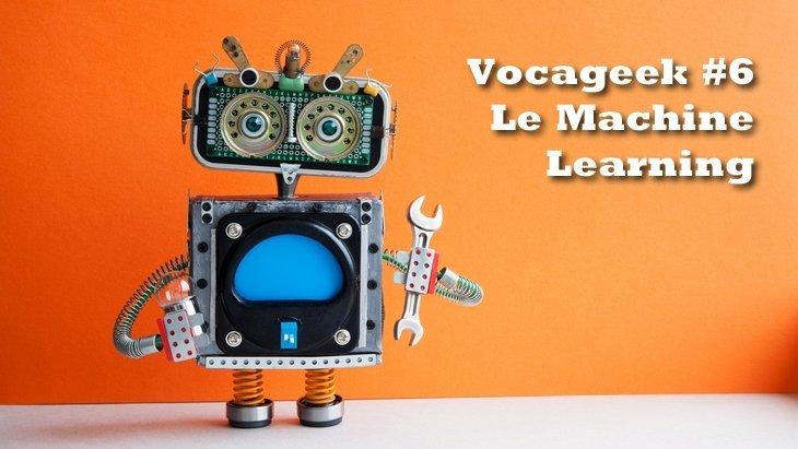 Vocageek #6 : le Machine Learning, c'est quoi?