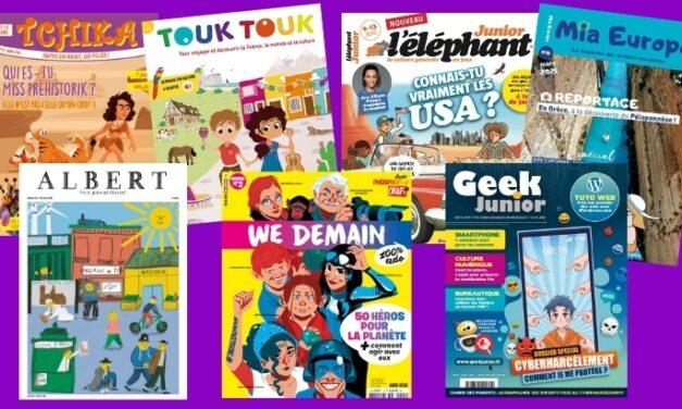 7 magazines jeunesse à découvrir (SPME 2021)