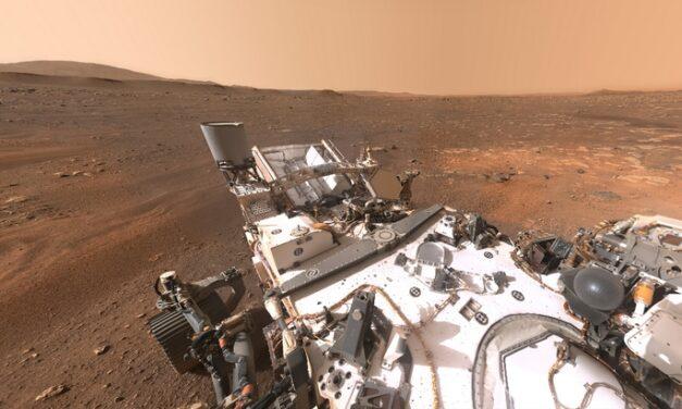 Découvre le site d'atterrissage du rover Perseverance en réalité virtuelle #VR