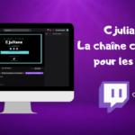 Cjuliane : une chaîne culturelle pour les ados sur Twitch