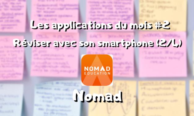 Les app du mois, réviser sur son smartphone : Nomad (2/4) #2