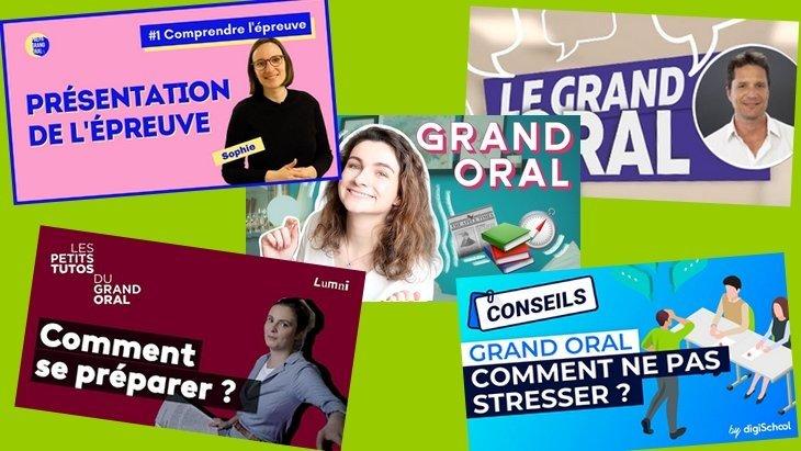 Le Grand Oral du bac : des vidéos YouTube pour réussir