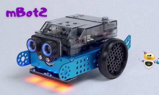 mBot2, le nouveau robot programmable de Makeblock