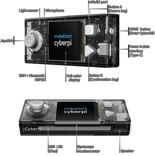 mbot2 - cyberpy