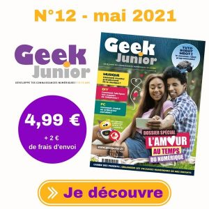 N°12 Geek Junior - mai 2021