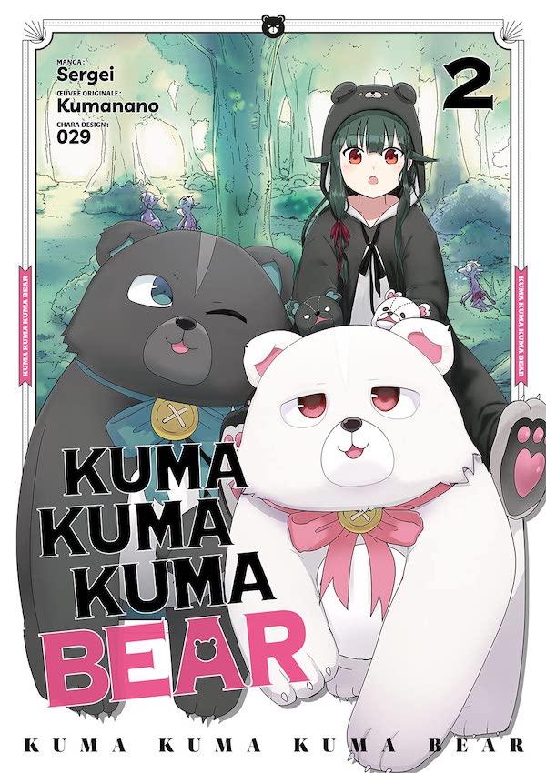 Kuma kuma kumą Bear Vol 1&2