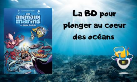 Les animaux marins en bande dessinée (T6) : à la découverte du monde aquatique