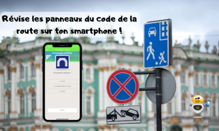 Révise les panneaux du code de la route sur ton smartphone !