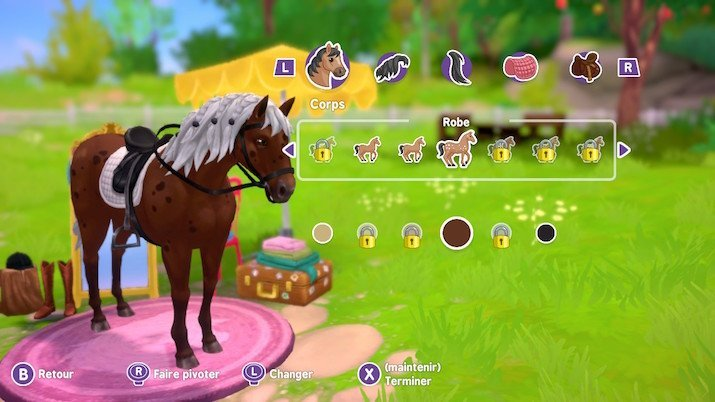 Personnalisation Horse Club Adventure