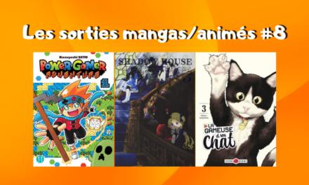 Les sorties mangas/animés : Power Gamer Adventure, One Piece, Shadows House… #8