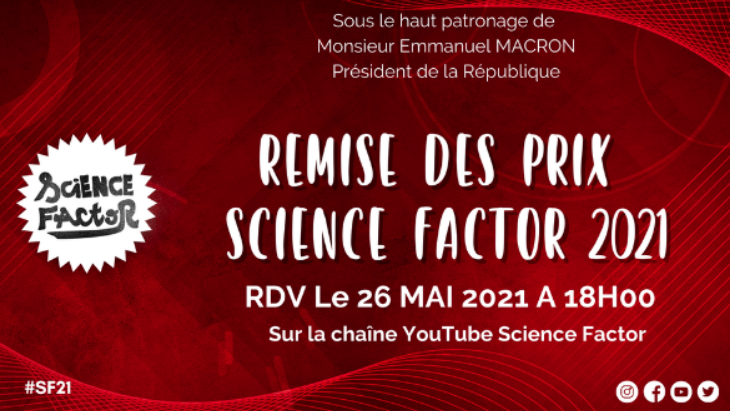 Science Factor : découvre les meilleurs projets innovants le 26 mai