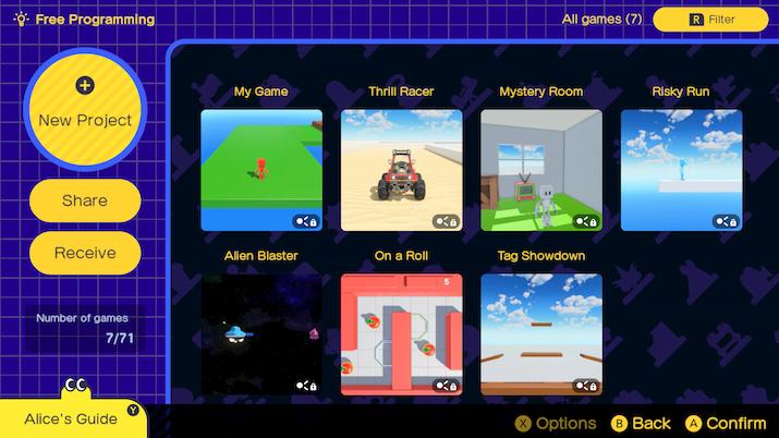L'atelier du jeu vidéo Nintendo