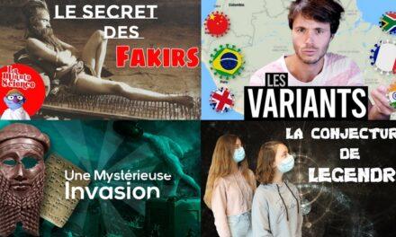 Apprendre avec YouTube #211 : Passé sauvage, Mytho, Norbert explique nous, Le Monde de Jamy