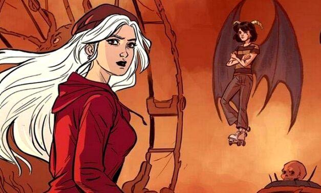 Sortie BD : Hella et les Hellboyz (T1), l'histoire d'une maison hantée et déjantée