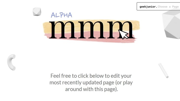 mmm.page : une solution simple pour créer ton premier site web