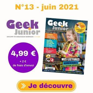 Geek Junior n°13 (juin 2021)