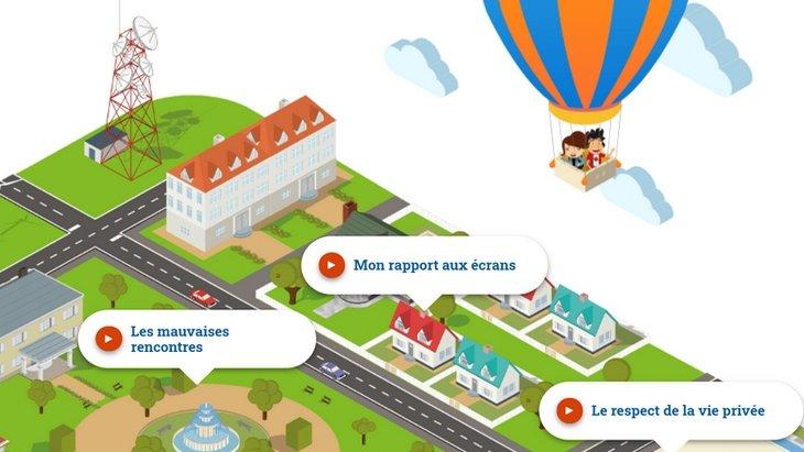 e-Junior, un site ludo-pédagogique pour sensibiliser les enfants et ados aux bons usages d'Internet