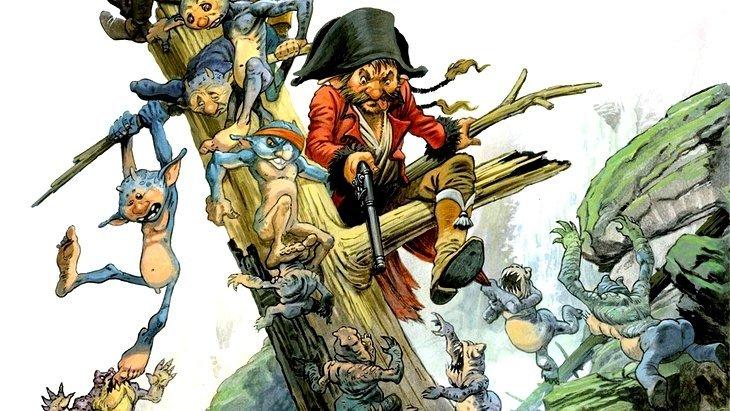 """""""Une Histoire de voleurs et de trolls"""" : une BD 100 % fantasy"""