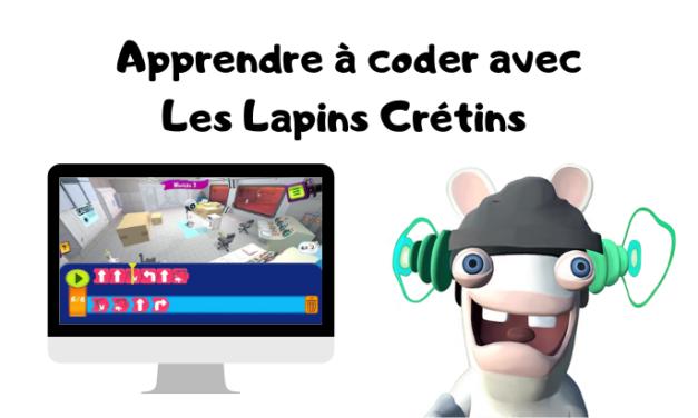 «The Lapins Crétins – Apprendre à coder!» pour coder dans l'espace!