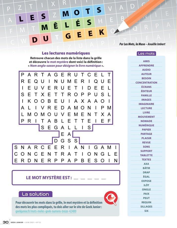 Geek Junior n°13 - page 30