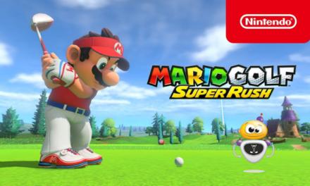 Du golf comme tu ne l'as jamais vu avec Mario Golf : Super Rush !