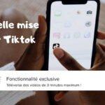 Des vidéos de 3 minutes sur Tiktok ? C'est maintenant possible !