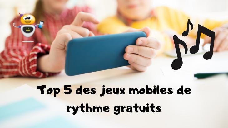 Top 5 des jeux mobiles de rythme gratuits