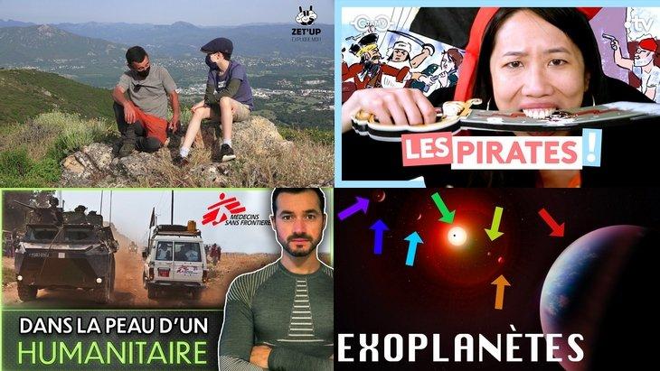 Apprendre avec YouTube #215 : Karim Duval, Zet'up, Le Monde de Jamy, Mister Géopolitix…