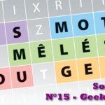 Les jeux du geek #8 : solutions du magazine Geek Junior n°15