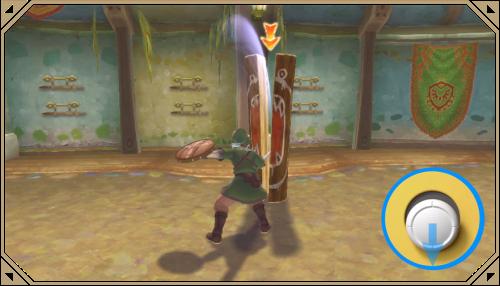 The Legend of Zelda: Skyward Sword HD-commandes