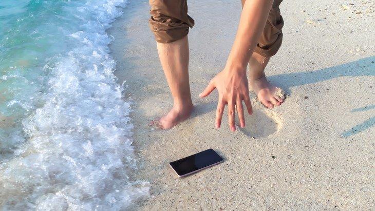 Mon smartphone est-il résistant à l'eau?