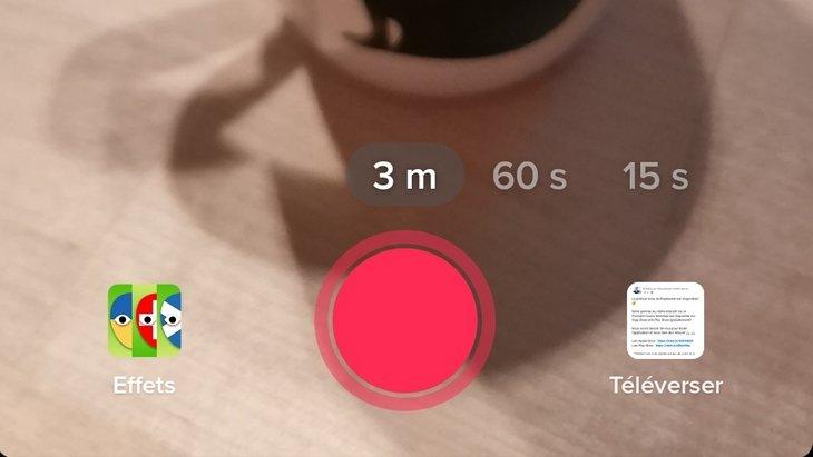TikTok permet de publier des vidéos de 3 minutes