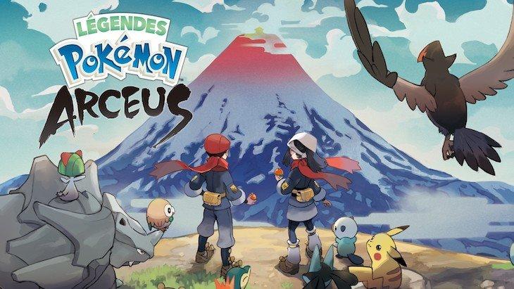 Une bande annonce dévoile un nouveau Pokémon dans Légendes Pokémon Arceus !